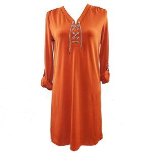 Michael Kors Women's Orange Sz Small Dress